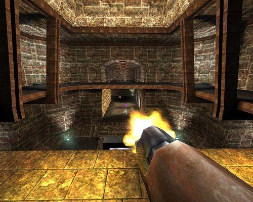 Excelente juego de acción en 3D. Uno de los clasicos en linux.