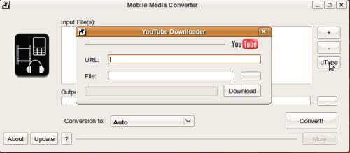 Mobile Media Converter nos facilita el bajar y convertir archivos desde youtube