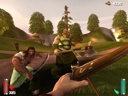 Savage es ilustrativo juego de estrategia y acción en 3D.