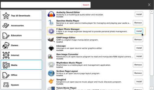 Garage: Catalogo de aplicaciones gratuitas para Moblin.